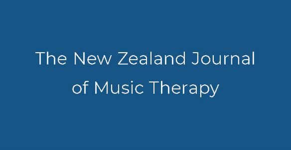 Submissions are welcome for the 2019 New Zealand Journal of Music Therapy