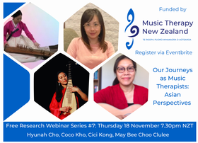Music Therapy NZ Research Special Interest Group Webinar